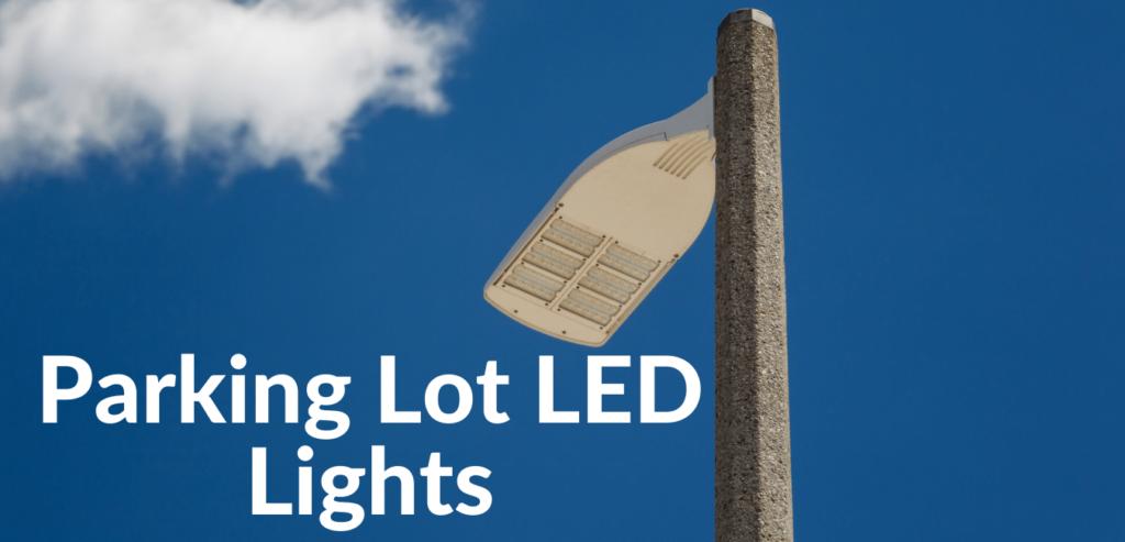 Parking lot LED area Light fixture