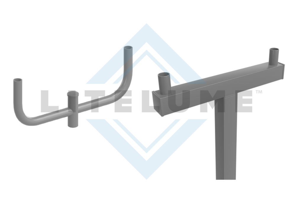 Pole Tenons, Spoke Arms and Brackets Manufactured by LITELUME
